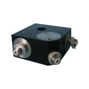 Tri-axial piezoelectric accelerometer CA-YD-3116